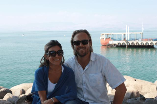 Sailing Sea of Galilee, Israel