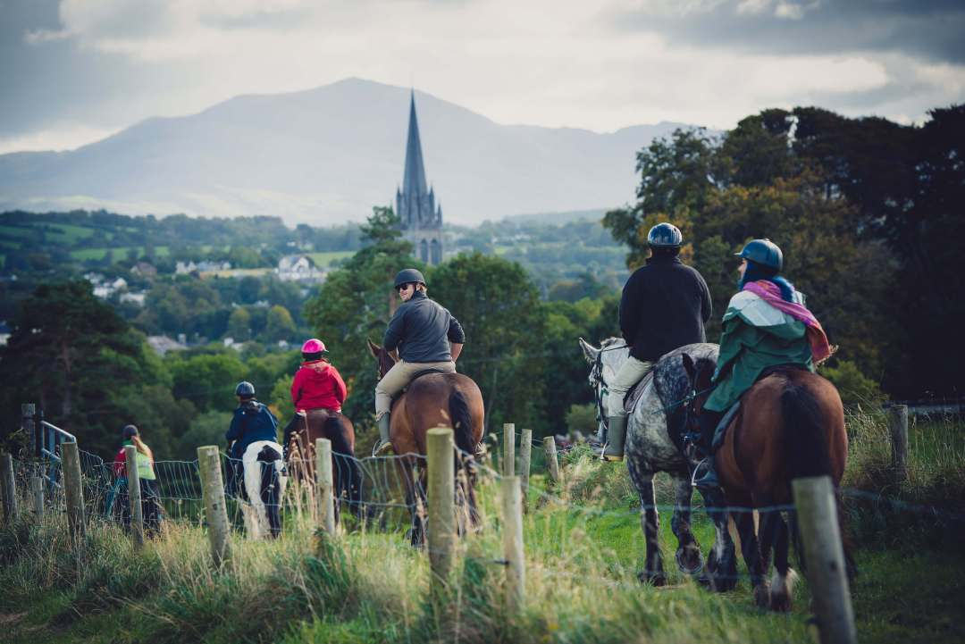 Horseback riding in Ireland, Killarney National Park