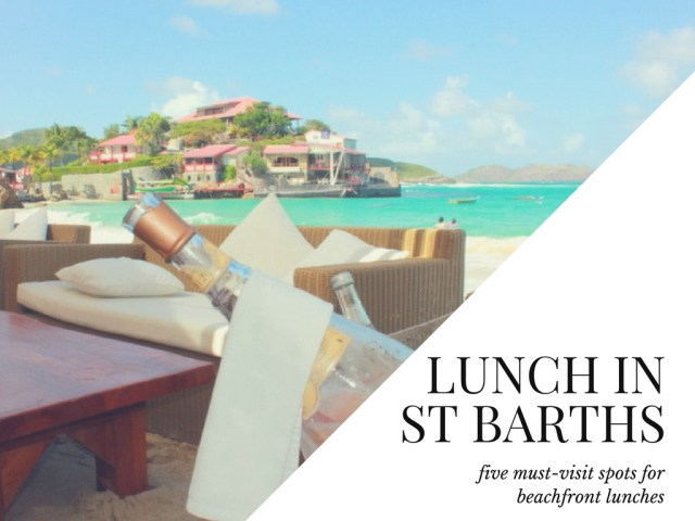 Nikki Beach, Best Lunch in St. Barths