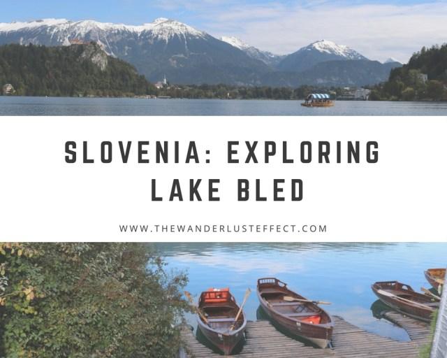 Exploring Lake Bled, Slovenia
