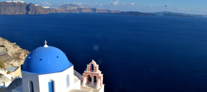 The (Real) Romance of Santorini