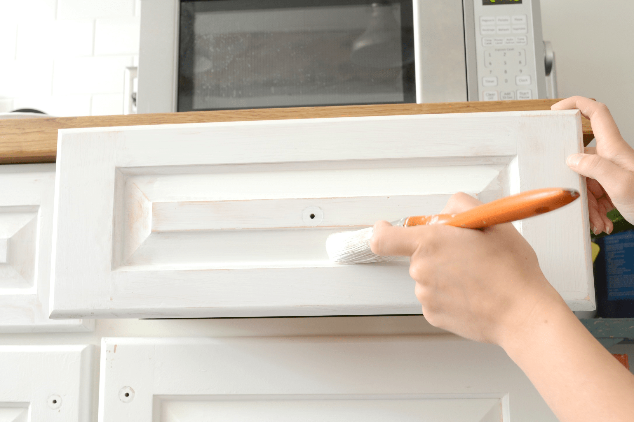 Painting Kitchen Cabinets Part One