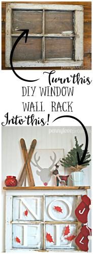 Penny Love Projects Window Wall Rack