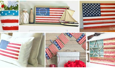 American Flag Decor Ideas
