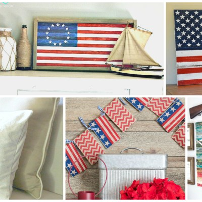Farmhouse style archives the weathered fox for American flag decoration ideas