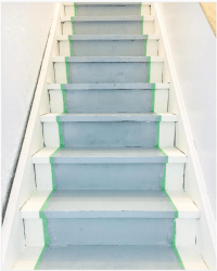 How to Paint Basement Stairs - The Weathered Fox