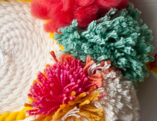 How to Add Pom Poms to a Weave   The Weaving Loom