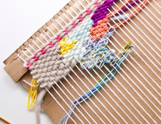Create Your Own Frame Loom No Tools Necessary The