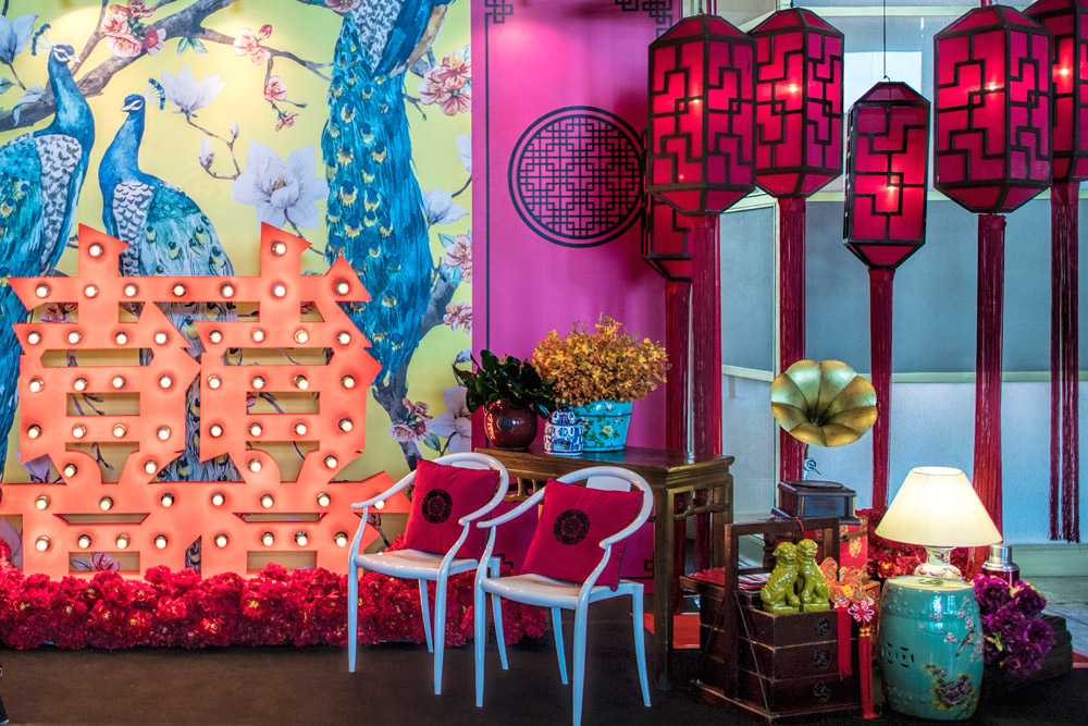 Hilton Kuala Lumpur Oriental Theme. www.theweddingnotebook.com