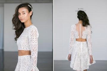 Rime Arodaky Fall 2017 Collection. www.theweddingnotebook.com