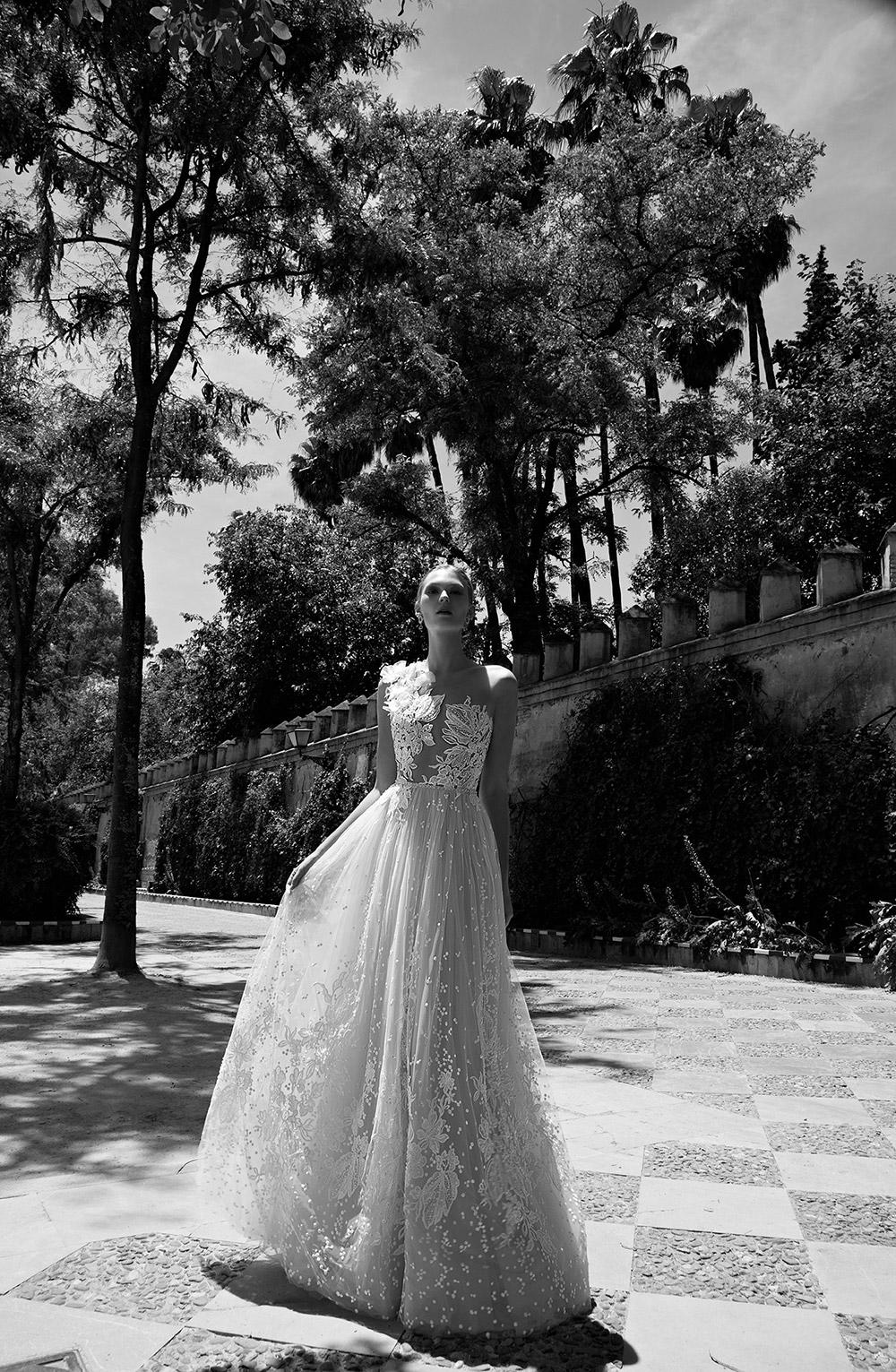 FLORA - Alon Livine 2017 Bridal Collection. www.theweddingnotebook.com