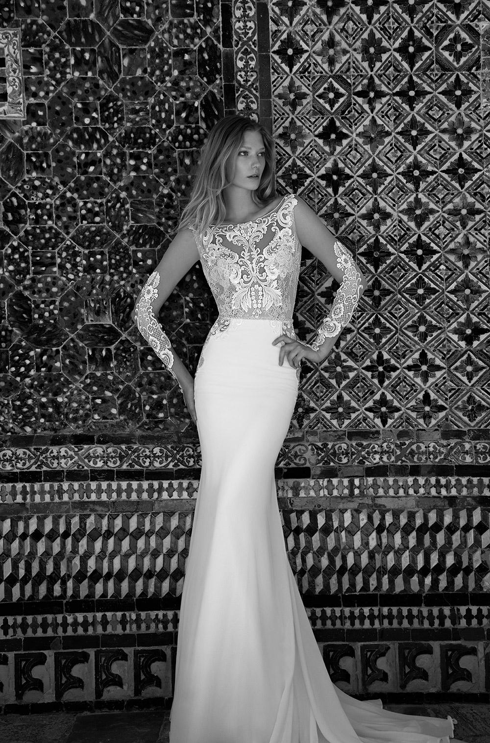 BLAIR - Alon Livne 2017 Bridal Collection. www.theweddingnotebook.com
