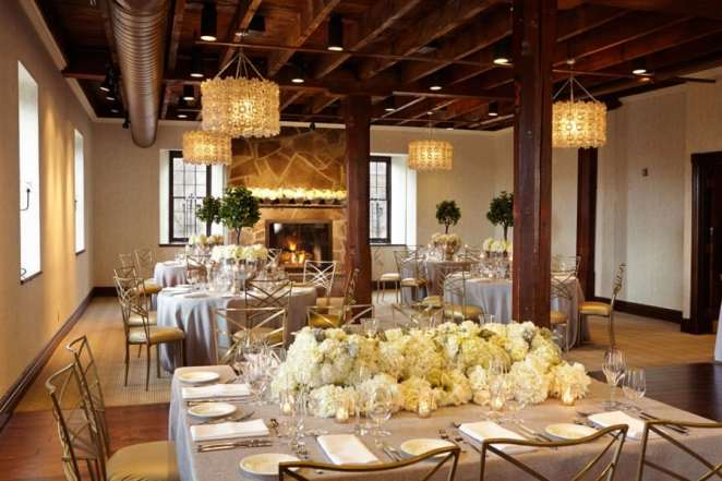 Ancaster Mill Weddings Gorgeous Wood Beams Fireplace Stone