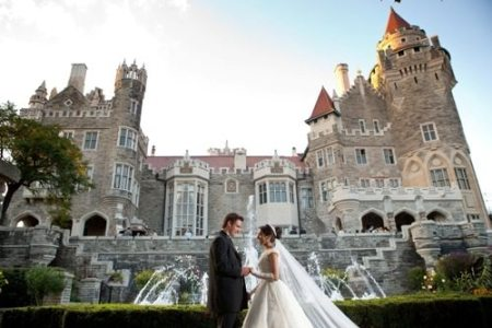 Toronto's own Castle on a hill - Casa Loma - Ultimate Wedding Venue