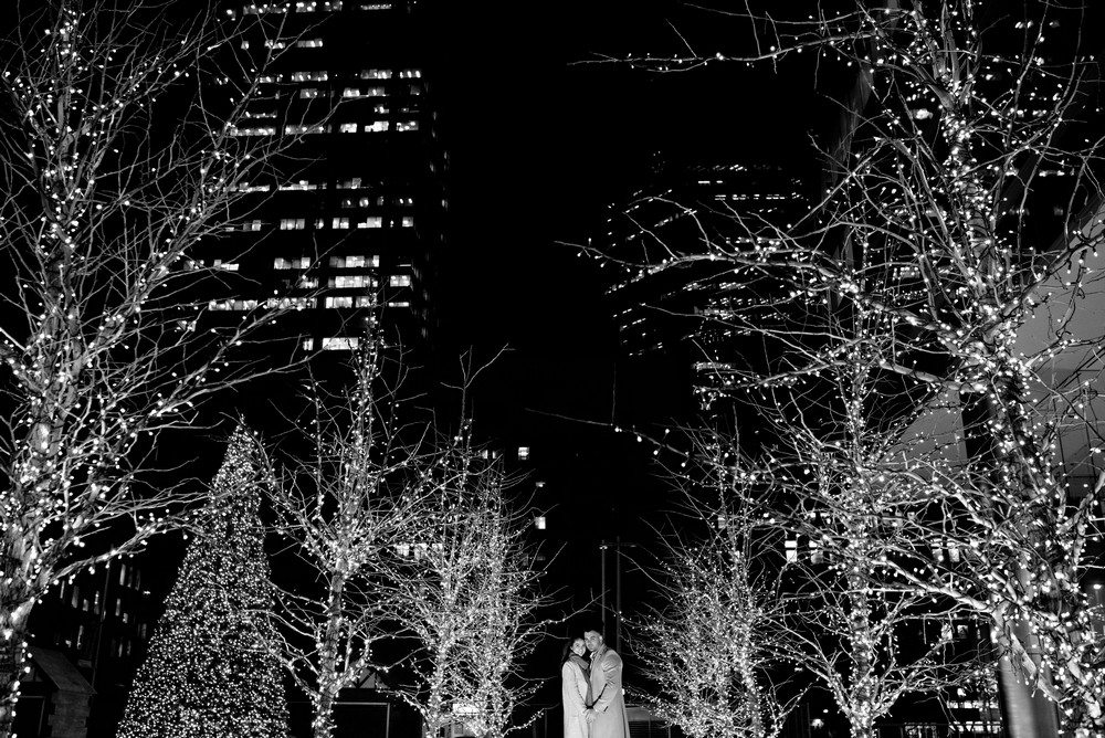 Reality Engagement Story A Surprise Holiday Proposal Caught On Camera Theweddingring Ca