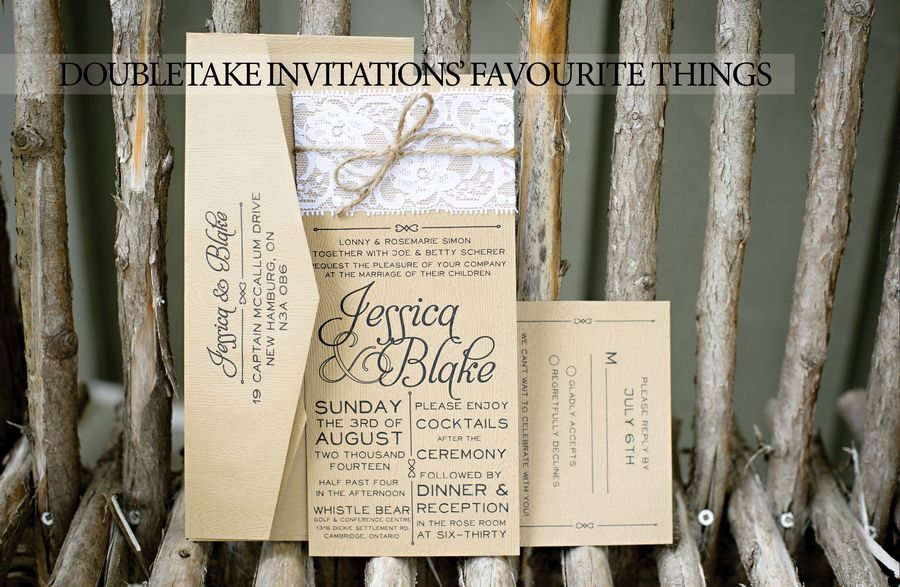 Favourite Things, DoubleTake Invitations | Photo: HRM Photography