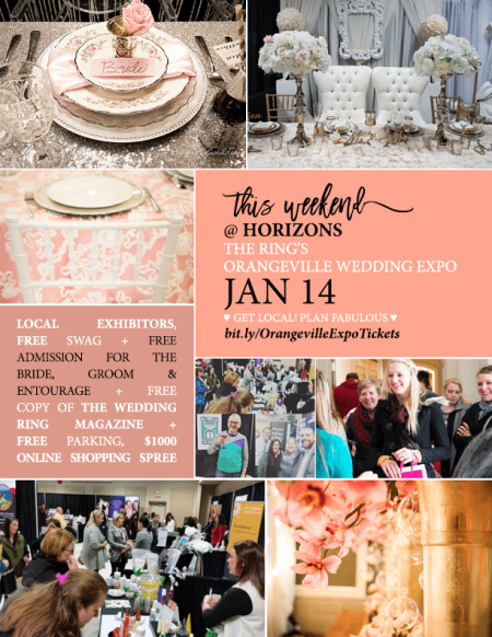 Orangeville Wedding Expo Winter 2017