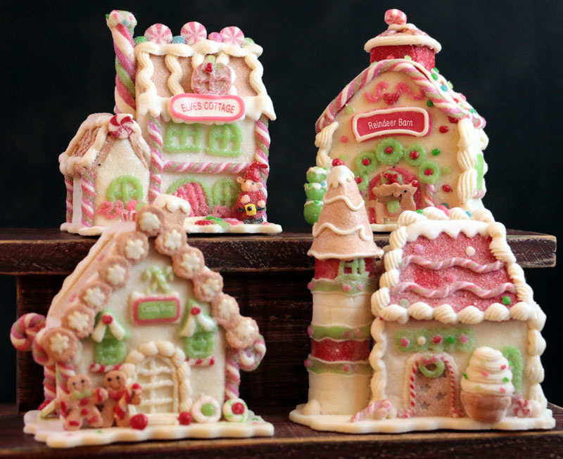 Fall Barn Wallpaper Gingerbread Ice Cream Castle By Raz Imports The Weed Patch
