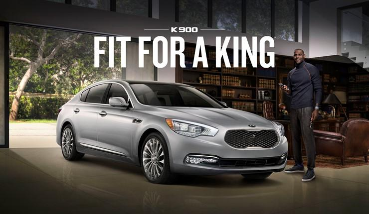 Ambassador Car Wallpaper Lebron James Kia Team Up For Three New K900 Ads