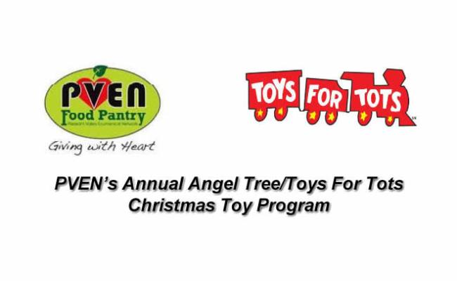 Pven S Annual Angel Tree Toys For Tots Christmas Toy