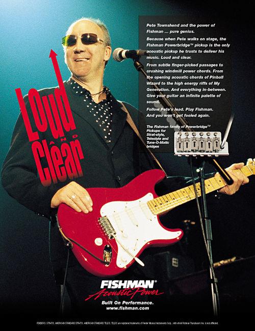 Fender Eric Clapton model Stratocasters Pete Townshend\u0027s Guitar