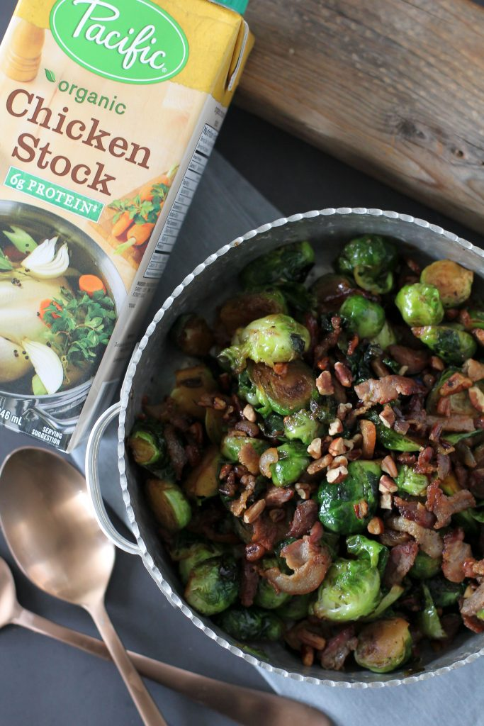 A delicious and amazingly easy brussels sprouts recipe from the Whole Smiths. Paleo friendly, gluten-free and grain-free.