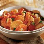cajun shrimp and potato chowder