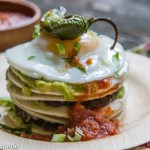 guacamole breakfast stacks