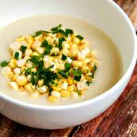 creamy summer corn & potato chowder