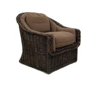 Classic Round Back Lounge Chair : Lounge Chairs : Style ...