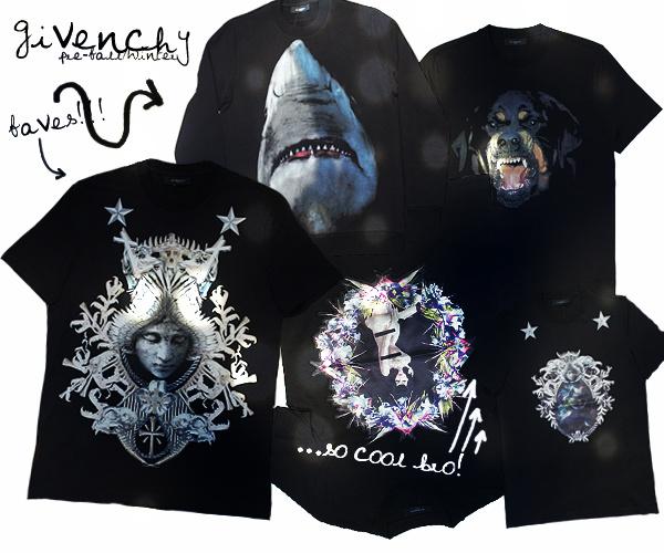 givenchy_pre_fall_winter_2012_menswear_angel_shark_rottwailer_dark_1
