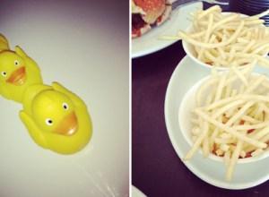 instagram_ducks_yellow_skinny_fries_food