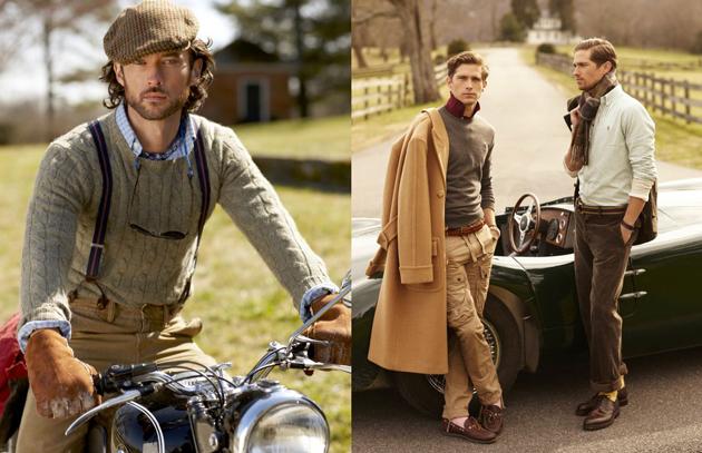 Polo Ralph Lauren Fall/Winter 2012 Campaign