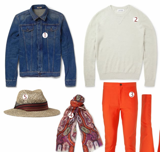 outfit_selection_menswear_etro_parsley_scarf_denim_jacket