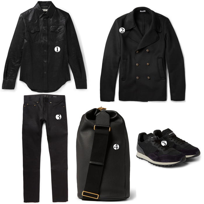 outfit-selection-mrporter-saint-laurent-leather-gucci-backpack