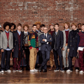 Tommy Hilfiger presents his Autumn/Winter 2016 collection during NYFW, photos of the designer himself taken with the models featuring the collection