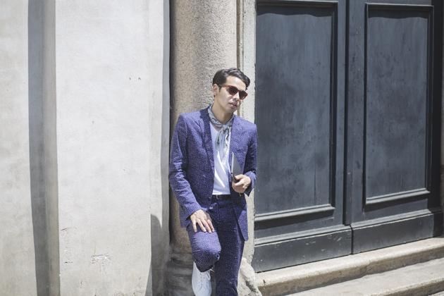 antony-morato-mfw-day-1-ss16-suit-polka-dots-02