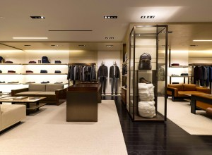 The new Zegna boutique opened its doors in London