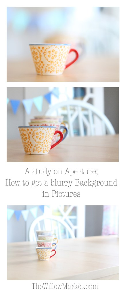 How to get a blurry background in pictures. An easy to understand explanation on aperture.