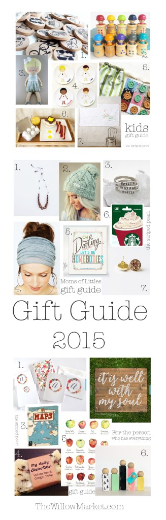 A Christmas or Birthday gift guide for men, women, kids.