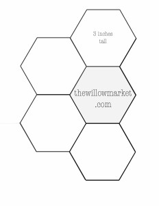 hexagon templates for sewing a hexie quilt 2 inch 2 1 2 inch and
