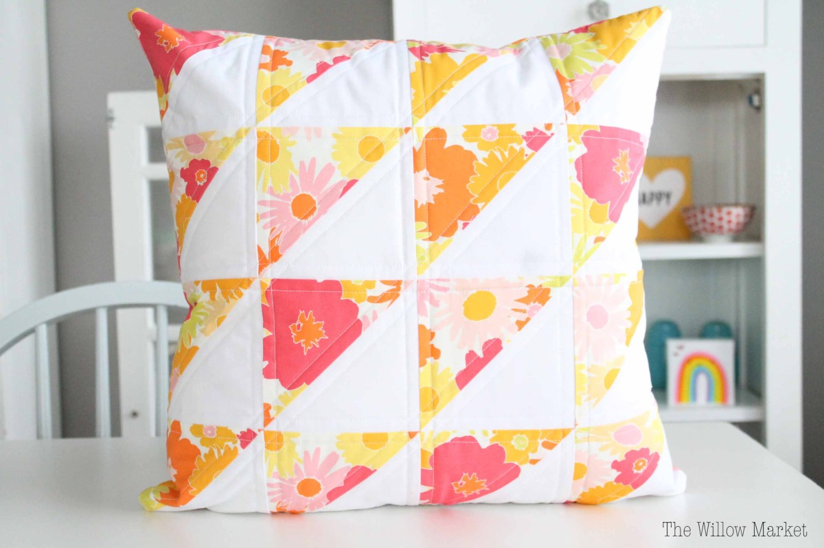 Vintage Inspired Throw Pillows : Vintage Inspired Floral Throw Pillows ? The Willow Market