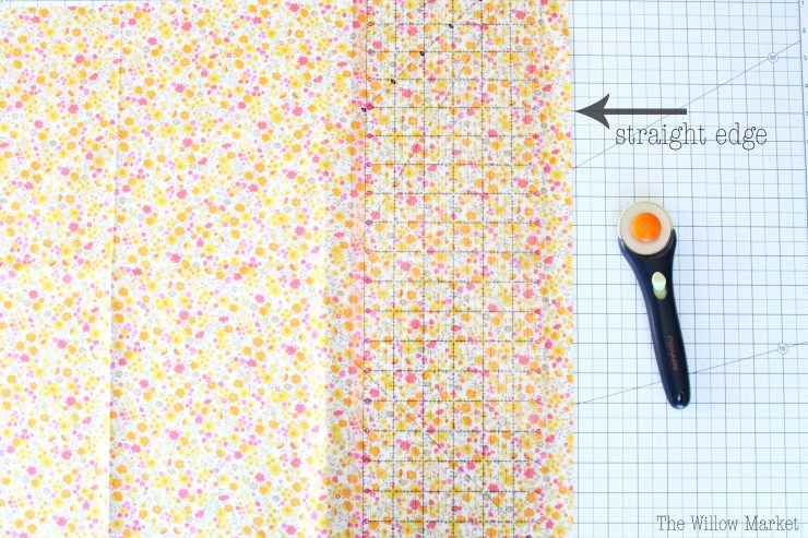 The fastest way to cut three inch or two inch quilting squares.