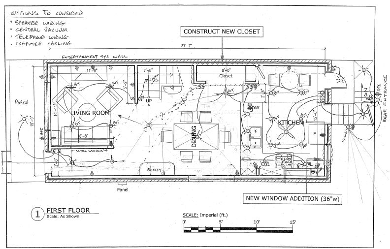 how to do a electrical plan