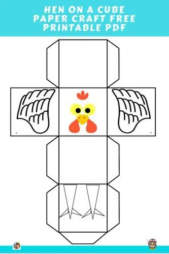 Hen Craft Project Free Craftivity PDF \u2022 Wise Owl Factory