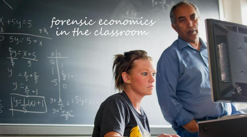 Forensic economics in the classroom