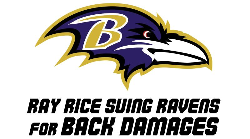 Ray Rice sues Ravens
