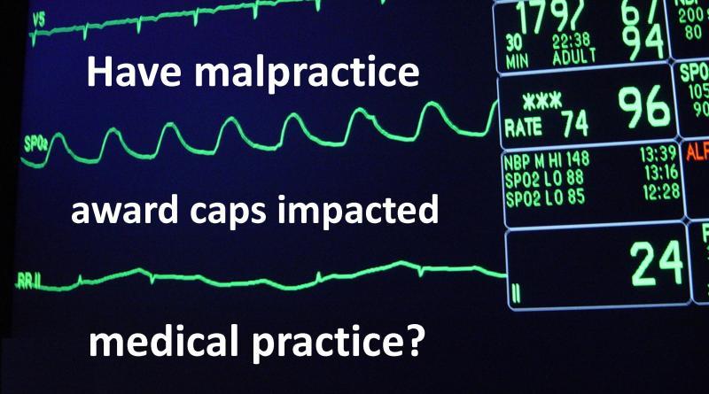 Malpractice award caps