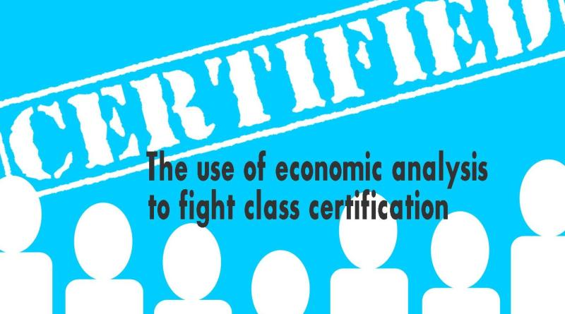 economic analysis to fight class certification