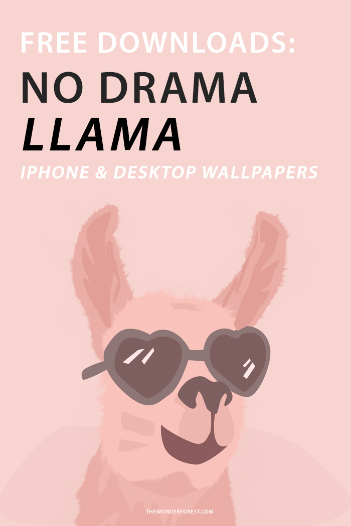 Cute Wallpapers For Phone Cases Tech Love No Drama Llama Wonder Forest